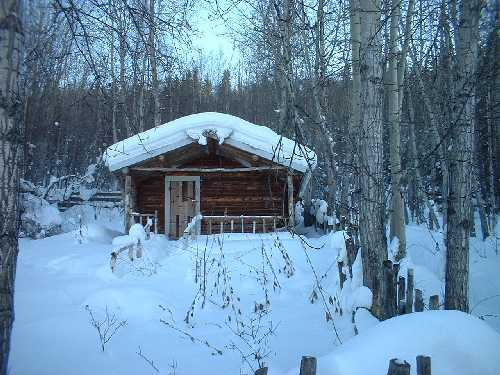 The Yukon in Winter - Photo by Anne Tyrell